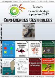 Conférences gesticulées ...Et Faits Planète