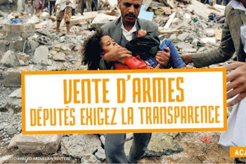 Veille  Ventes d'armes : la France manque de transparence
