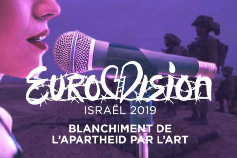 Veille  Eurovision, Israël 2019, blanchiment de l'apartheid par l'art