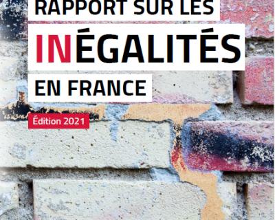 Veille   Rapport sur les inégalités en France, édition 2021